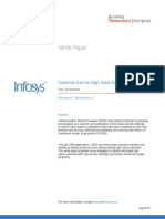 Customer Care For High Value Customers - Key Strategies