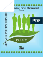 Indian Inst. of Forestry