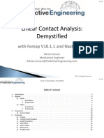 Linear Contact Analysis-WhitePaper