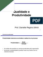 AULA 03 -Qualidade e Produtividade