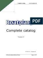Boatplans Dk-Complete Catalog Ver15