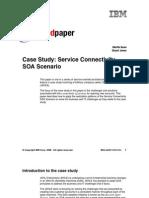 2-IBM- Case - Service Connectivity SOA Scenario