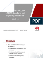 03- OWA210001 WCDMA UTRAN Interface and Signaling Procedure