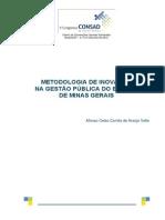 180 Metodologia de Inovação Na Gestão Pública Do Estado de Minas Gerais