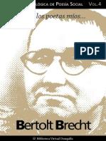 Cuaderno de Poesia Critica n 4 Bertolt Brecht