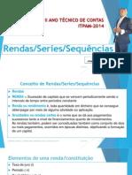 Rendas (Series) Constantes Aulas - II Semestre