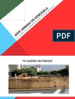 Arte Urbano en Venezuela
