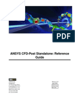 CFD Post 12 - Reference Guide