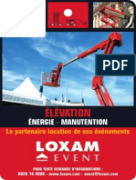 Fiches Loxam Event