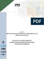 ERN-CAPRA-T1-1 - Componentes Principales Del Analisis de Riesgos