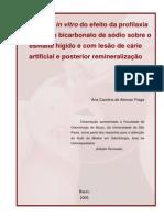 Uso Do Jato de Bicarbonato de Sódio Em Profilaxia.