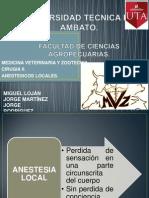Cirugia Anestesicos Locales