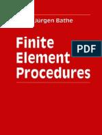 FEM - Finite Element Procedures - K -J Bathe - 1996
