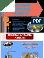 Diapositivas de Comercial II - Sociedad Anonima Abierta