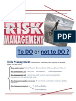 Risk Management Final Assignment
