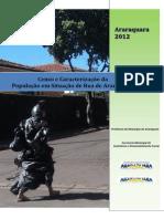 Censo e Caracterização Da Populaçao Em Situaçao de Rua - Araraquara