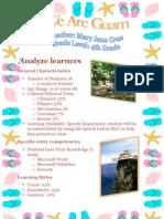 Mary Jane Landmark Assure Lesson Plan