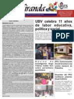MIRANDA (Boletín Informativo. Maracaibo, julio 2014 / Año 11)