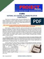 Sistemul de Control al Proiectelor