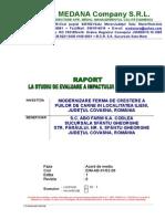 Raport La Studiul de Evaluare a Impactului Asupra Mediului ABO FARM