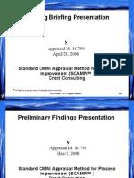 Appraisal Presentation - Template v9 ML3