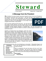 The Cowichan Land Trust Steward - Summer 2007