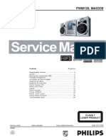 Manual de Servicio Philips FW-M139_MAS339