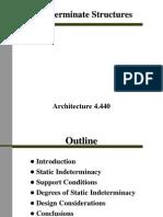 Indeterminate Structure