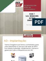 Aula1 Instalando WindowsServer AD