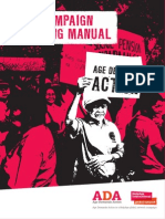 ADA campaign training manual