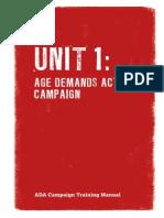 ADA Training Manual Unit 1