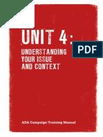 ADA Training Manual Unit 4