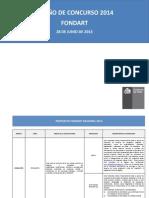 Rc Presentacion Fondart 2014