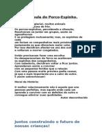 A FÁBULA DO PORCO ESPINHO.doc