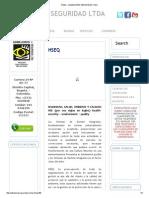 Hseq « Admejores Seguridad Ltda