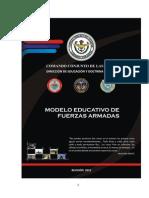 Modelo Educativo Ff.aa