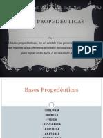 Bases Propedeuticas