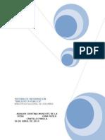 Proyecto Final Teoría de Sistemas Adalvis Moscote y Gina Cantillo
