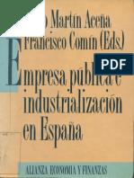 Empresa Publica e Industrializacion en España