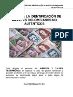 Guía Para Identificar Billetes Falsos