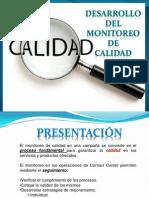 Diapositivas Monitoreo de Calidad.