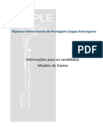 Modelo Exame DUPLE