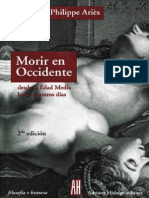 Morir en Occidente - Desde La E - Philippe Aries