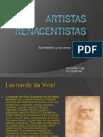 Artistas renacentistas