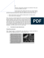 1 Radiometric Corrections