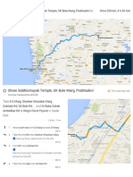 Dadar to Shirdi Driving Instructions