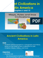 ancient civilizations in latin america