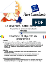 La Diversite Notre Point Fort Avril 2009
