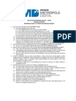 1ª Prova MD3 Basico Diretrizes - 19-05-2013