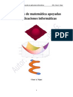 Prácticas de Matemática Apoyadas en Aplicaciones Informáticas